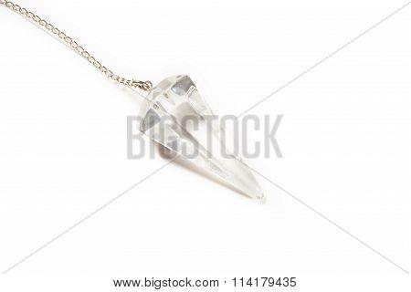 White Crystal Pendulum