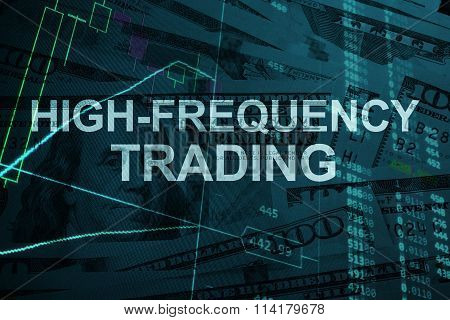 Words High-frequency trading  with the financial data.