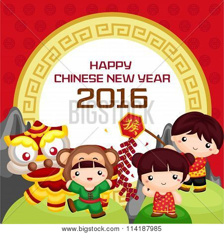 Chinese New Year2016 greeting