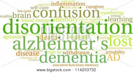 Disorientation Word Cloud