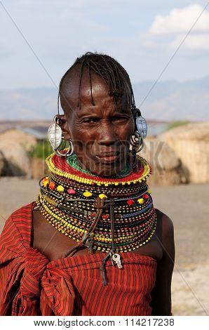Tribal People From Africa, Kenya