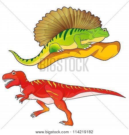 Allosaurus-edaphosaurus