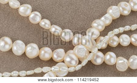 Beads Made From Freshwater Pearls