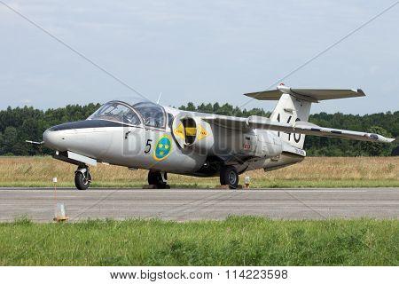 Swedish Air Force Saab 105 Trainer Jet
