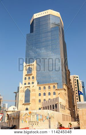 Barzan Tower In Doha Downtown, Qatar