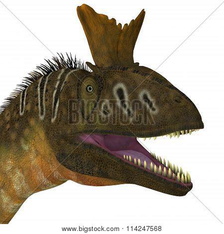 Cryolophosaurus Head View