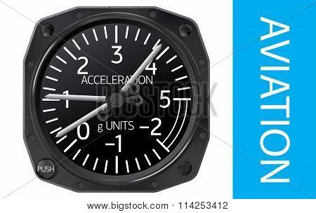Accelerometer vector illustration