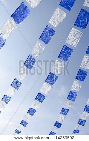 Cut paper decoration