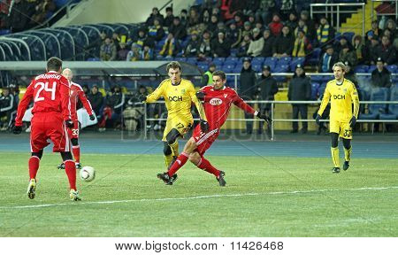 Metalist - Debreceni Uefa Football Match