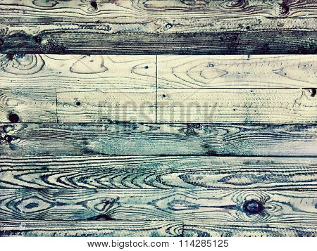 Old Distressed Wood Background with sign and drops. Aged wood parquet for Vintage design