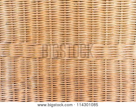 Texture Basketwork Background Wallpaper, Handicraft Of Thailand