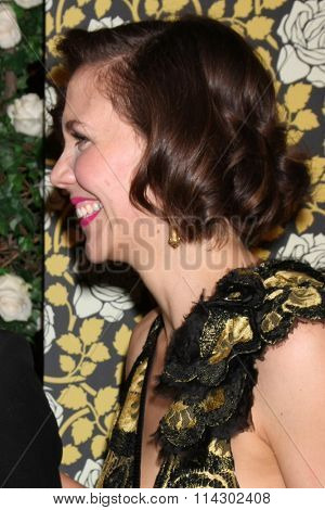 LOS ANGELES - JAN 10:  Maggie Gyllenhaal at the HBO Golden Globes After Party 2016 at the Beverly Hilton on January 10, 2016 in Beverly Hills, CA