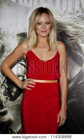 HOLLYWOOD, CALIFORNIA - March 23, 2011. Malin Akerman at the Los Angeles premiere of