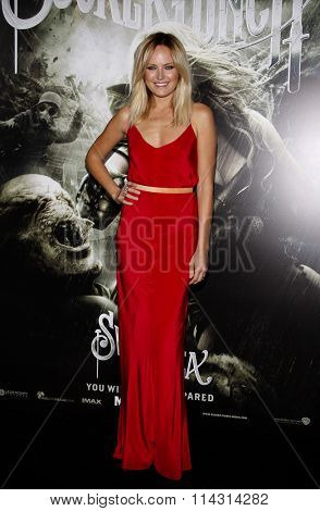 Malin Akerman at the Los Angeles Premiere of