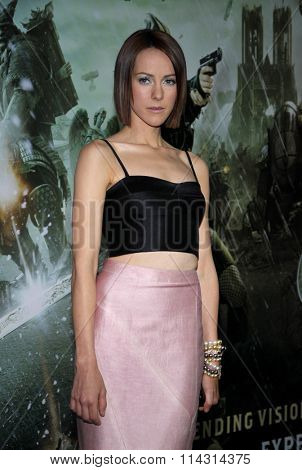 HOLLYWOOD, CALIFORNIA - March 23, 2011. Jena Malone at the Los Angeles premiere of