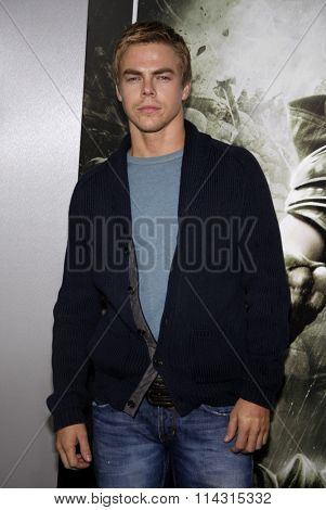 HOLLYWOOD, CALIFORNIA - March 23, 2011. Derek Hough at the Los Angeles premiere of