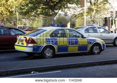 Irish/British Police Car