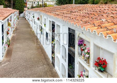 Tossa De Mar. City Columbarium.