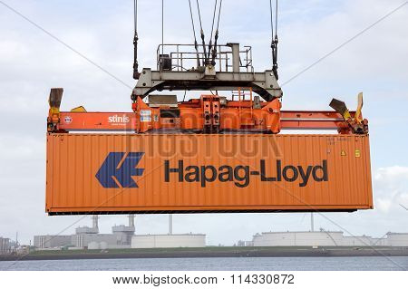 Crane Container Shipping