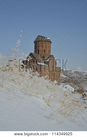 Winter Scene In Ani - Saint Gregory Church