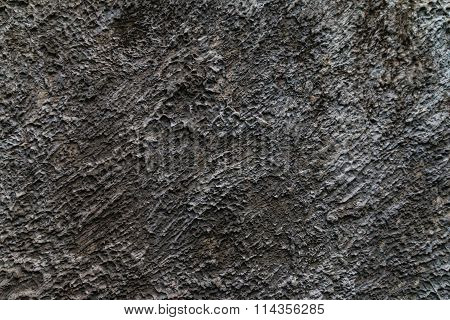 Closeup Of The Cement Wall Texture