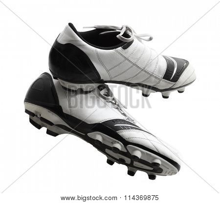 Old soccer shoes, football boots, cleats, cleet