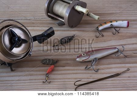 Vintage Fishing Gear