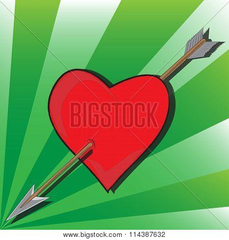 Arrow To Heart