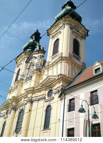 Ursulinenkirche In Linz, Austria