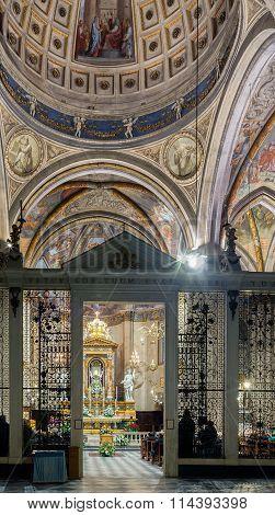 Funeral Mass, San Donato Cathedral Arezzo