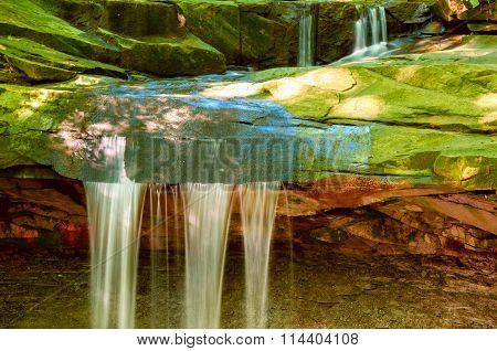 Summer Waterfall