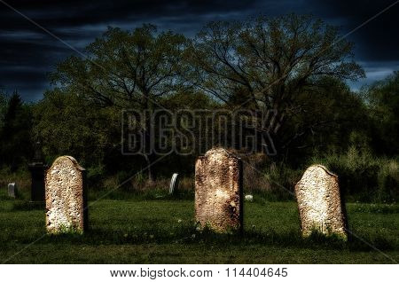 Spooky Old Graves