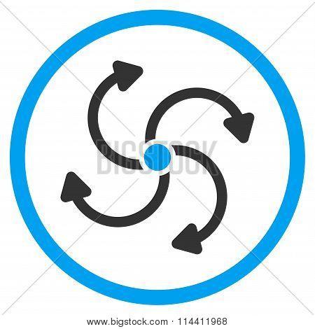 Fan Rotation Icon