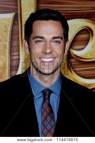 Zachary Levi at the World Premiere of