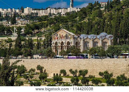 Church Of All Nations, Jerusalem