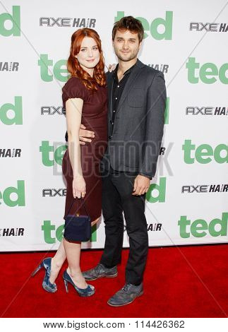 LOS ANGELES, CALIFORNIA - June 21, 2012. Alexandra Breckenridge at the Los Angeles premiere of 'Ted' held at the Grauman's Chinese Theater, Los Angeles.