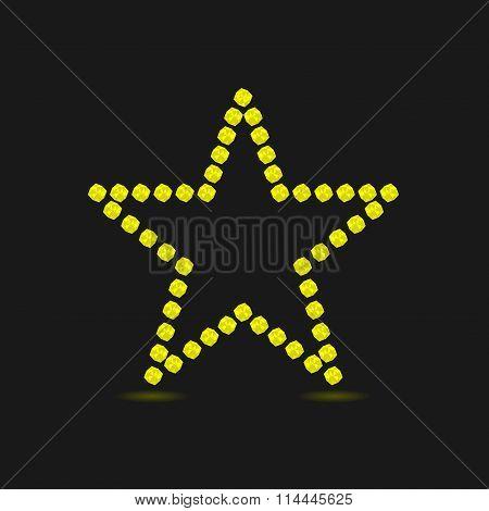 Violent yellow star