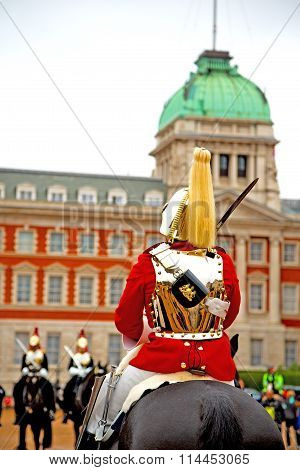 In London England   And Cavalry For    The Queen
