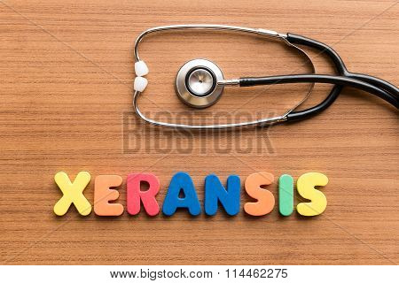 Xeransis Colorful Word