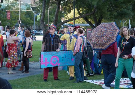 Adelaide Pride March 2015