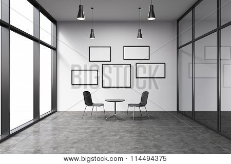 Office In A Skyscraper