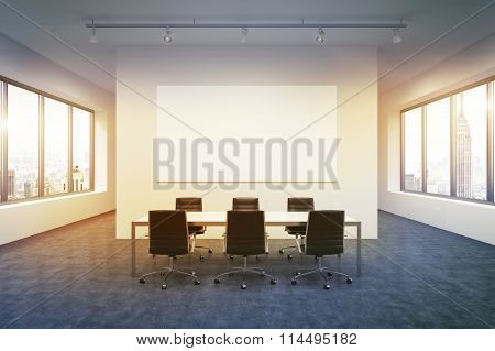 Spacious Empty Meeting Room