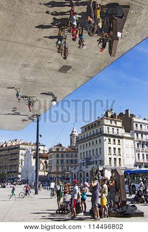 Street Musicians In Marseille