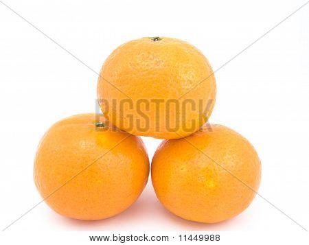 Three Tangerines