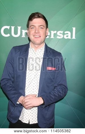 LOS ANGELES - JAN 14:  Max Silvestri at the NBCUniversal Cable TCA Press Day Winter 2016 at the Langham Huntington Hotel on January 14, 2016 in Pasadena, CA
