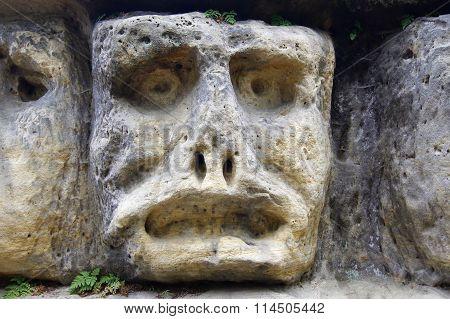 Haunted Stone Heads
