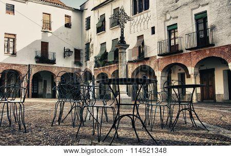 Small Square Of Zafra, Badajoz, Spain