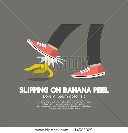 Slipping On Banana Peel.