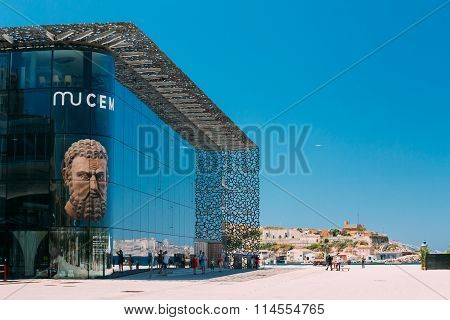 The Museum of European and Mediterranean Civilisations in Marseille, France
