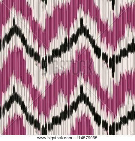 Ikat Pattern